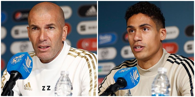 VÍDEO | Rueda de prensa de Zinedine Zidane y Raphael Varane previa al partido ante el Valencia